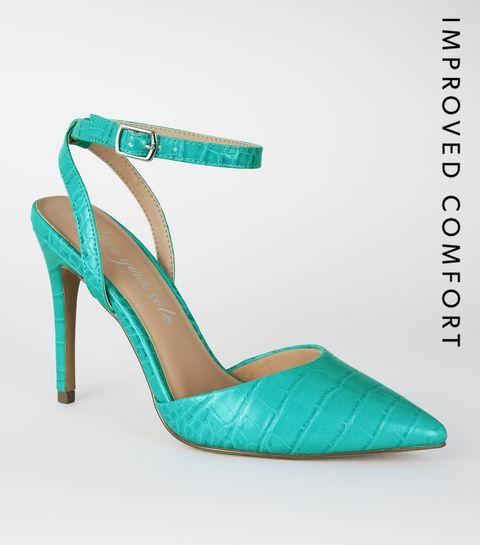 c44bd285cbf19c Escarpins Femme | Chaussures à talons hauts en daim & cuir | New Look