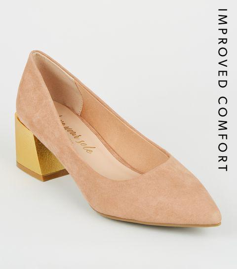 8dbeebddefa09 Court Shoes | Block Heel Court Shoes & Court Heels | New Look