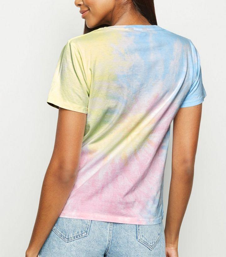 9160ac696de4c3 Blue Tie Dye Swirl T-Shirt