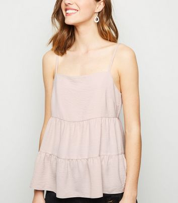 Pale Pink Tiered Cami