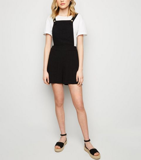Black Linen Look Dungaree Playsuit · Black Linen Look Dungaree Playsuit ... 0c8e8e1a7