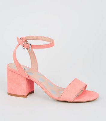Girls Coral Suedette 2 Part Sandals