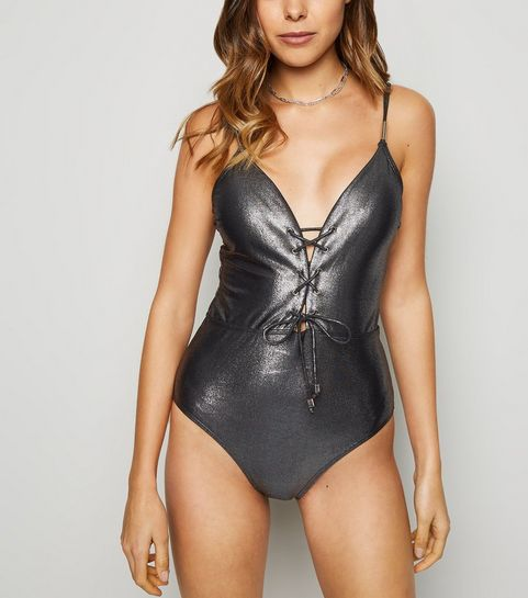eb5762f9ac9bf Swimsuits | One Piece Swimsuits & Cut Out Swimsuits | New Look