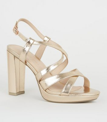 Look SandalsBarely Strappy Heeled Thereamp; New 1JTFKlc