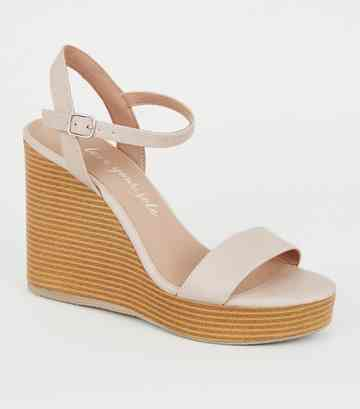 5737c28a9 Heeled Sandals | Barely There & Strappy Heeled Sandals | New Look