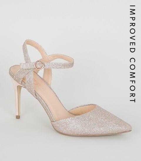 a753ba10a0f739 Escarpins Femme   Chaussures à talons hauts en daim & cuir   New Look