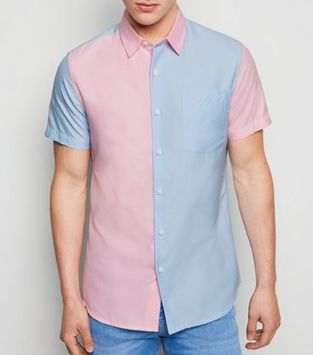 Multicoloured Colour Block Oxford Shirt