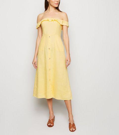 1302e8fe9649 Women's Yellow Dresses | Mustard & Gold Dresses | New Look