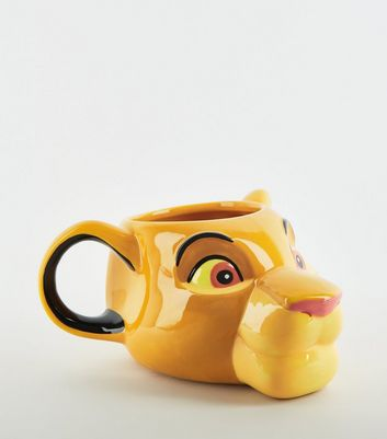 Yellow Disney Simba Lion King Mug