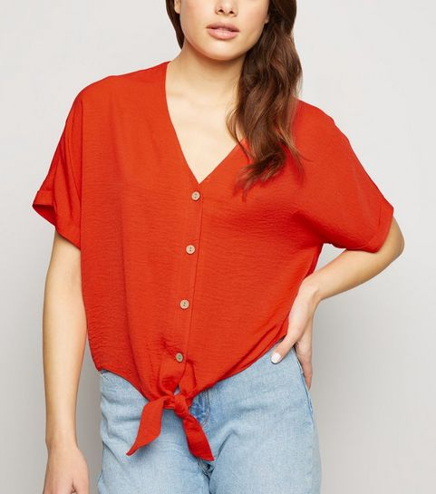 fcda8ad34 Button Tops | Button Up Tops & Button Front Tops | New Look