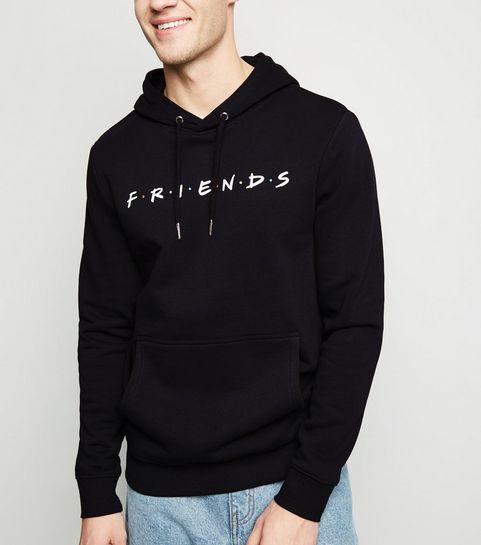 afec5eaf9402 Black Friends Logo Hoodie