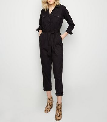 Innocence Black Belted Boiler Suit