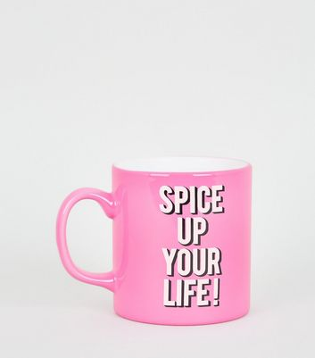 Bright Pink Spice Up Your Life Mug