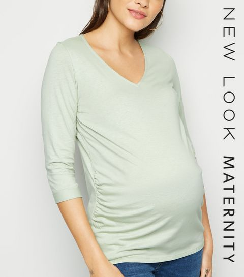 9b57df176fe71 Maternity Tops | Maternity Shirts & Nursing Tops | New Look