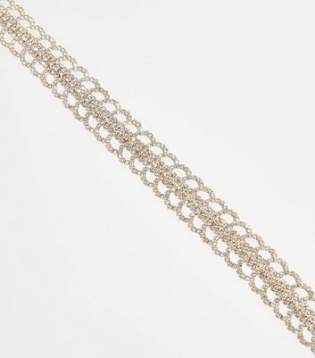 Rose Gold Premium Diamanté Choker