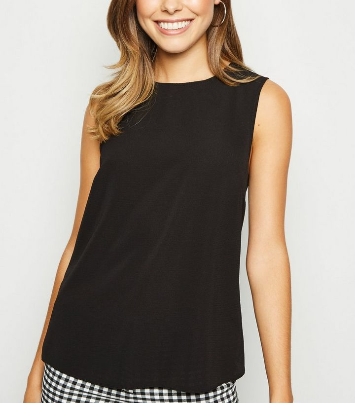 f7317d4fb3ae0 ... Black Sleeveless Button Back Blouse. ×. ×. ×. Shop the look