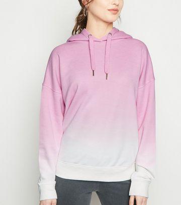 Pink Ombré Hoodie