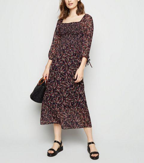 57a3d6606d46f Floral Dresses | Floral Print Maxi & Midi Dresses | New Look