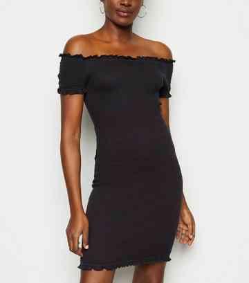 0d8448225cea Bardot Dresses   Off The Shoulder Dresses   New Look