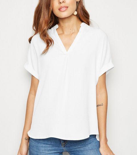 e5fe5ca8d6b ... Off White Overhead Short Sleeve Shirt ...