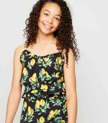14b8f0aae53 Girls' Cami Tops | Girls' Camisole Tops | New Look