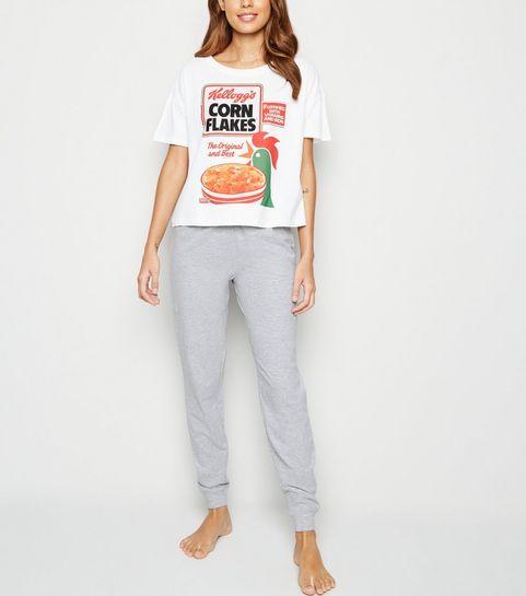 a9734c8c262 ... White Kellogg s Corn Flakes Logo Pyjama ...