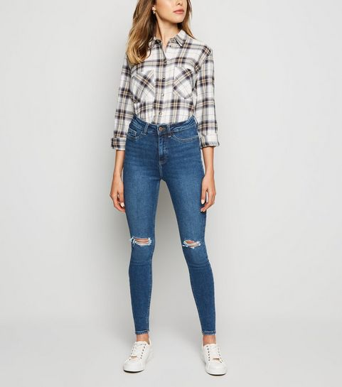 07750a1def6f Ripped Jeans | Distressed Jeans & Ripped Skinny Jeans | New Look