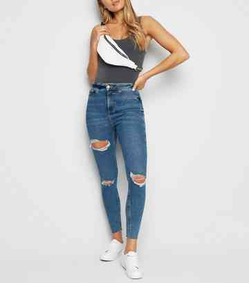 b97071c88e7 High Waisted Jeans | Super High Waisted Jeans | New Look