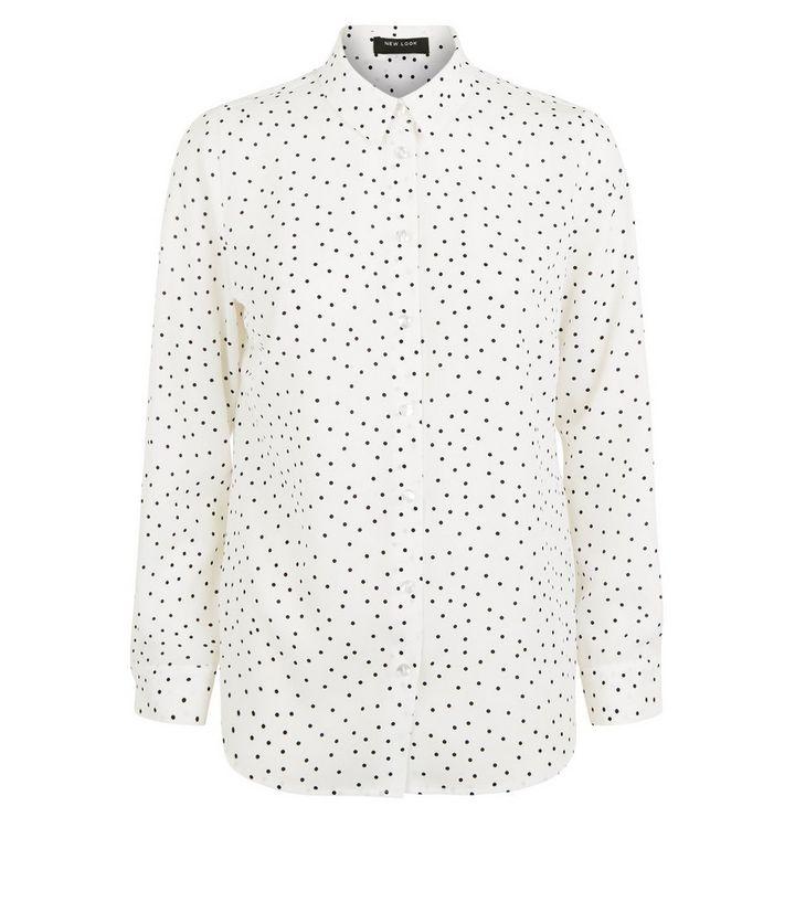 f57698c387 ... Petite White Spot Button Up Shirt. ×. ×. ×. Shop the look