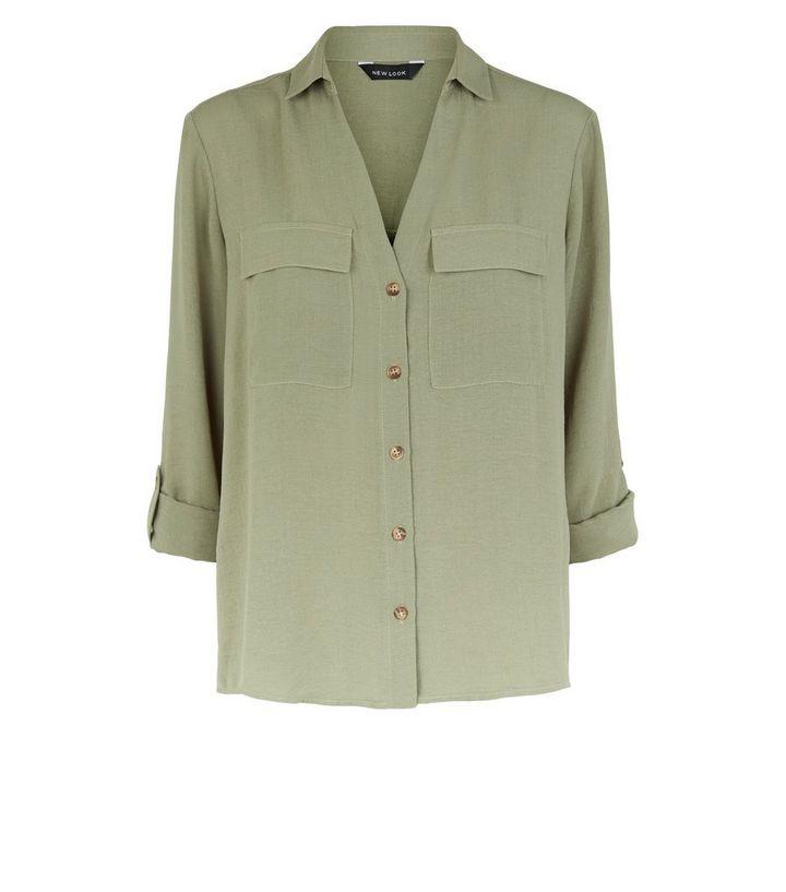 089e6ad510b ... Khaki Button Up Utility Shirt. ×. ×. ×. Shop the look