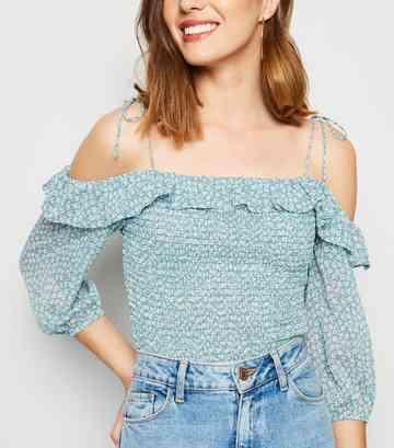 f299f085ee3 Women's Bardot Tops | Off the Shoulder Tops | New Look