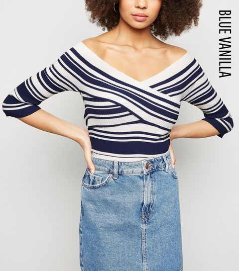 88293a937f50 ... Halterneck Jumpsuit. Add to Saved Items. Remove from Saved Items.  €44.99 Quick view · Blue Vanilla Blue Stripe Cross Over Bardot Jumper ·  Blue Vanilla ...