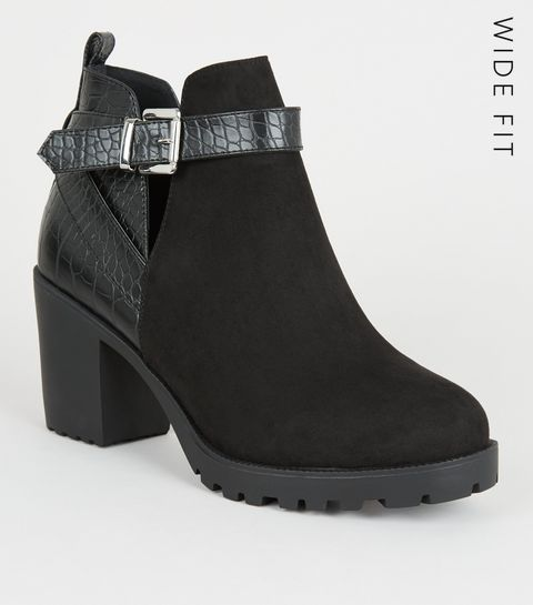 214ba349f Black Boots for Women | Black Ankle Boots & Heeled Boots | New Look