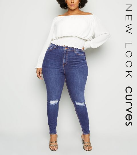 ad25629f01fd High Waisted Jeans | Black High Waisted Jeans | New Look