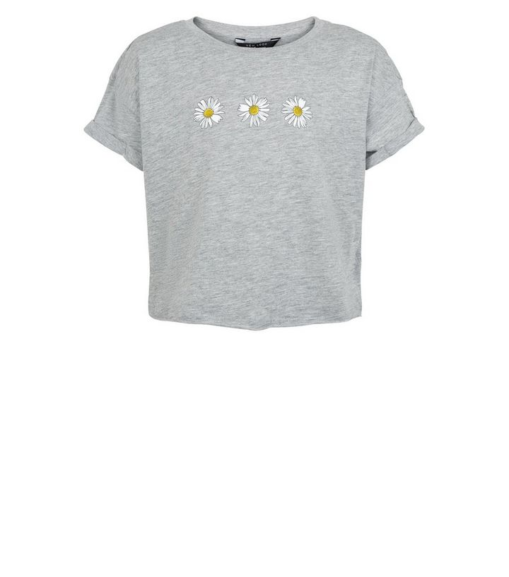f060e9b5 ... Girls Grey Daisy T-Shirt. ×. ×. ×. Shop the look