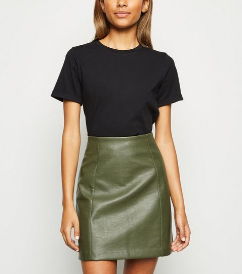 9460f2745a Women's Faux Leather Skirts | Leather Look Skirts | New Look