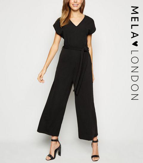 226948eaba0 Mela Black Culotte Jumpsuit · Mela Black Culotte Jumpsuit ...