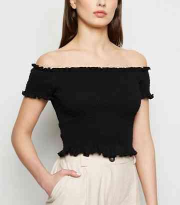 31456e362ca5cd Women's Bardot Tops | Off the Shoulder Tops | New Look