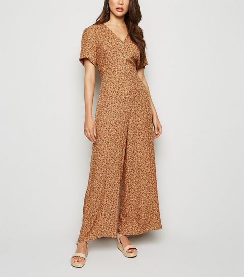 76c139930 Jumpsuits & Playsuits | Culotte Jumpsuits & Rompers | New Look