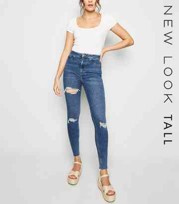 5bcc74e5be4 Tall Jeans | Tall High Waisted Jeans & Tall Skinny Jeans | New Look