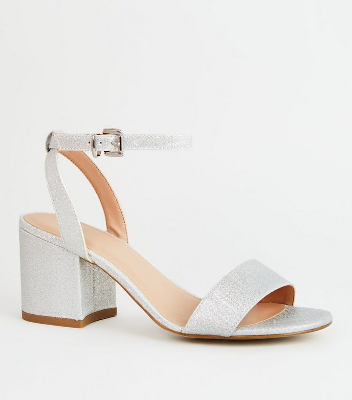 New look ladies heeled sandals