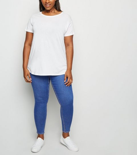 6da40c5976 Plus Size Jeans | Plus Size Ripped Jeans & Jeggings | New Look