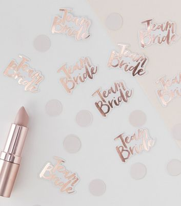Ginger Ray Rose Gold Team Bride Confetti