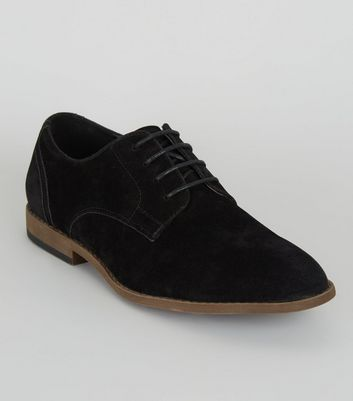 Chaussures Homme Design | New Look Faux Suede Derby