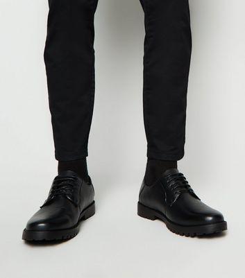 mens black derby shoes leather