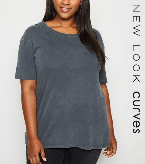 4e692cc38 Women's Plus Size T-Shirts | Plus Size Slogan T-Shirts | New Look