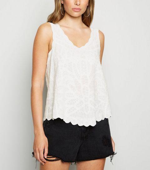 0ede31960a3 Vest Tops | Ladies' Lace & Long Vest Tops | New Look