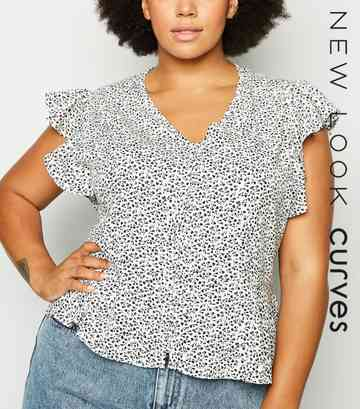 1e0ee6ae73e69 Plus Size Tops | Plus Size Blouses & Shirts | New Look
