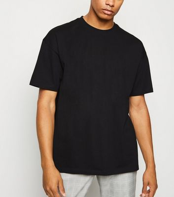 Black Oversized Cotton T-Shirt