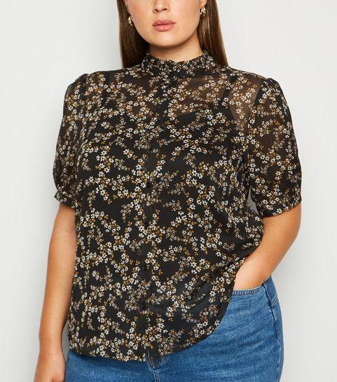 dc33f5d44b Women's Plus Size Shirts & Blouses | Check Shirts | New Look